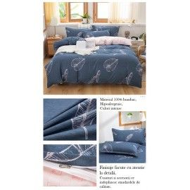 Lenjerie bumbac wild 2 persoane